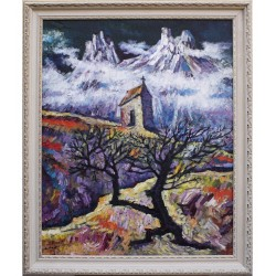"""Lev Bayakhchev """"Autumn in the mountains"""""""