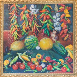 "Mariam Aslamazyan ""Abundance of vegetables"""