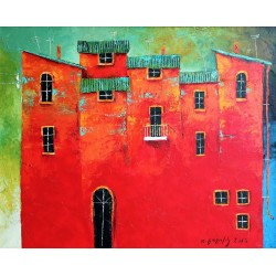 "Tamaz Gogoladze ""Red house"""